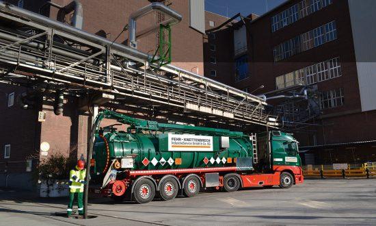 Transporte von gefährlichen Abfällen
