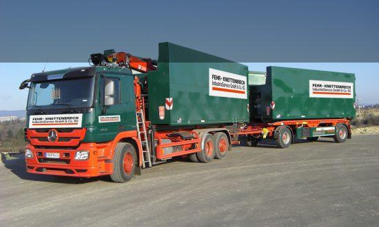 Transporte von nicht gefährlichen Abfällen